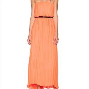 Blaque Label pleated maxi dress